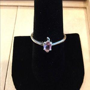 Pink fashion ring